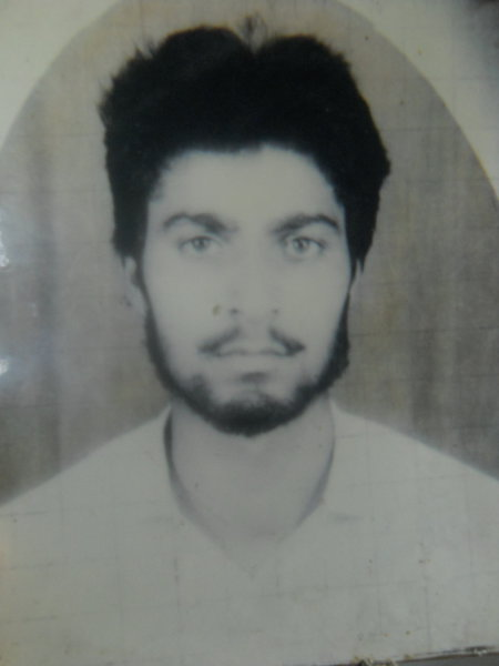 Photo of Jagdish Raj, victim of extrajudicial execution on April 13, 1992, in Qadian,  by Border Security Force, in Qadian, by Punjab Police