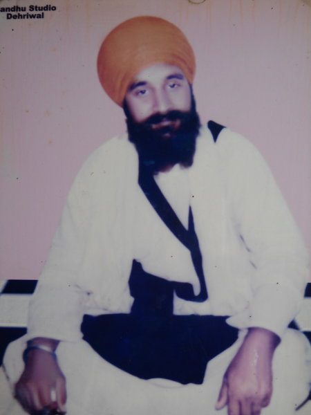 Photo of Harjinder Singh, victim of extrajudicial execution on January 24, 1992, in Dhariwal,  by Punjab Police; Border Security ForcePunjab Police; Border Security Force