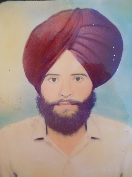 Photo of Sarwan Singh,  disappeared on January 31, 1993, in Amritsar,  by Punjab Police