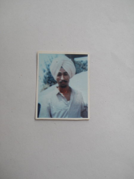 Photo of Iqbal Singh, victim of extrajudicial execution between June 1, 1987 and August 1,  1987, in Amritsar, by Punjab Police