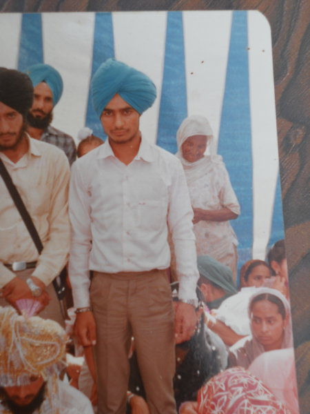 Photo of Gurbaksh Singh, victim of extrajudicial execution between February 1, 1991 and February 1,  1992, in Mattewal, by Punjab Police