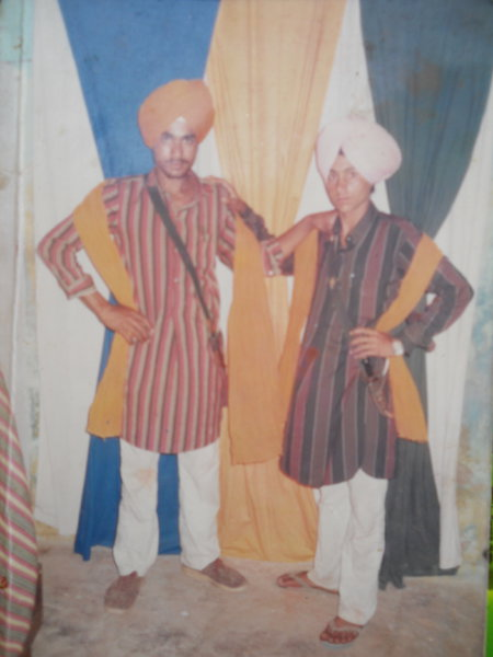 Photo of Sawinder Singh, victim of extrajudicial execution between February 18, 1991 and March 31,  1991, in Kathu Nangal, by Punjab Police