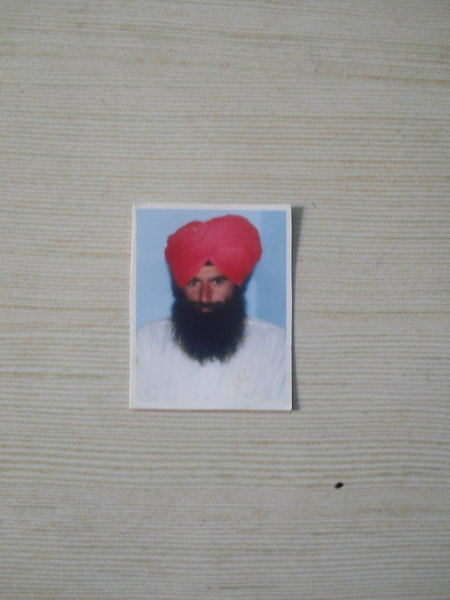Photo of Tarsem Singh, victim of extrajudicial execution between May 1, 1992 and May 10,  1992, in Fatehgarh Churian,  by Punjab Police; Border Security Force; Central Reserve Police Force; Black cat, in Fatehgarh Churian, by Punjab Police