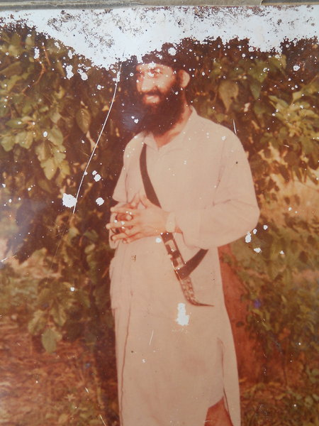 Photo of Kulwinder Singh, victim of extrajudicial execution between June 19, 1991 and June 19,  1992Punjab Police