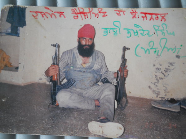 Photo of Sukhdev Singh, victim of extrajudicial execution on May 11, 1991, in Ludhiana, by Punjab Police