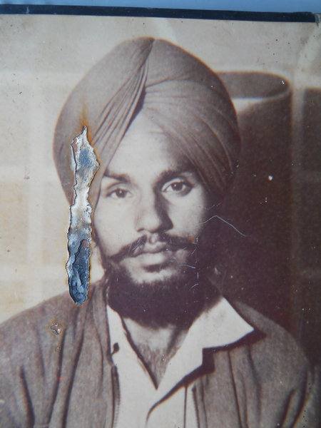 Photo of Tarlochan Singh, victim of extrajudicial execution on May 11, 1991, in Ludhiana, by Punjab Police