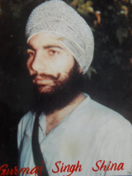 Photo of Gurmej Singh, victim of extrajudicial execution on May 13, 1991, in Ramdas, by Punjab Police