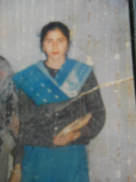 Photo of Balwinder Kaur, victim of extrajudicial execution on May 13, 1991, in Ramdas, by Punjab Police