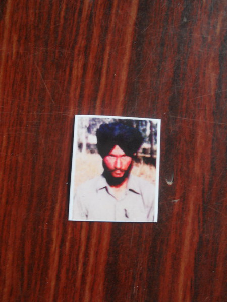 Photo of Avtar Singh, victim of extrajudicial execution on November 23, 1988, in Ludhiana, by Punjab Police