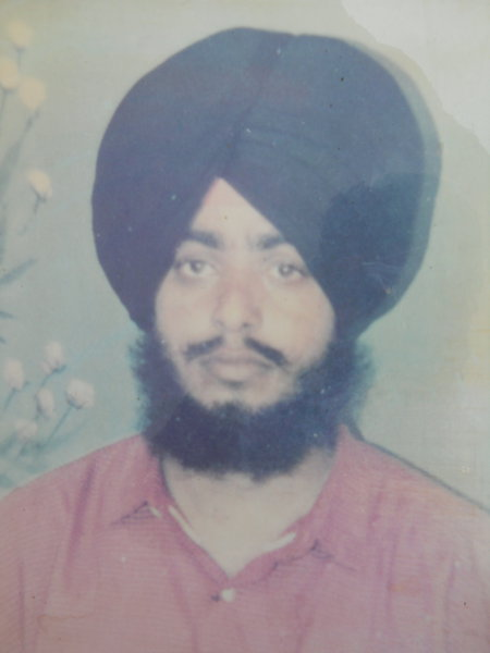 Photo of Manohar Singh, victim of extrajudicial execution on April 17, 1993, in Gurdaspur, by Punjab Police