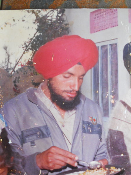 Photo of Sukhwinder Singh, victim of extrajudicial execution on October 04, 1991, in Tugalwala, by Punjab Police