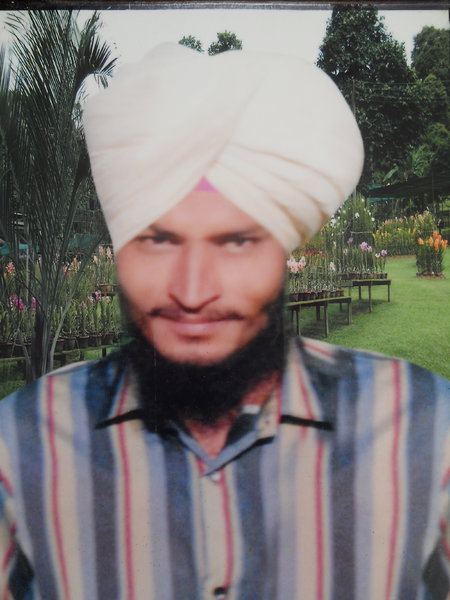 Photo of Khajhan Singh, victim of extrajudicial execution on October 04, 1991, in Tugalwala, by Punjab Police