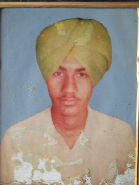 Photo of Surjit Singh, victim of extrajudicial execution on December 11, 1991, in Sri Hargobindpur, by Punjab Police