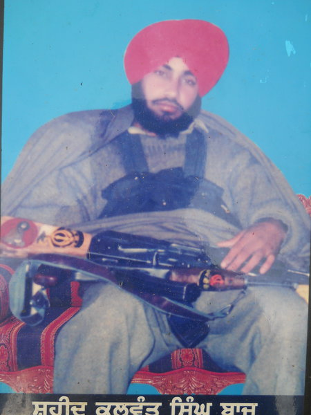 Photo of Kulwant Singh, victim of extrajudicial execution on March 17, 1991, in Sri Hargobindpur, by Punjab Police; Border Security Force; Army