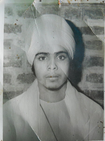 Photo of Paramjit Singh, victim of extrajudicial execution on March 3, 1988, in Udhanwal, by Punjab Police; Border Security Force