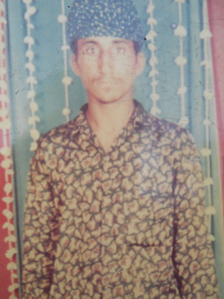 Photo of Sukhdev Singh, victim of extrajudicial execution on January 06, 1993, in Chogawan, by Punjab Police