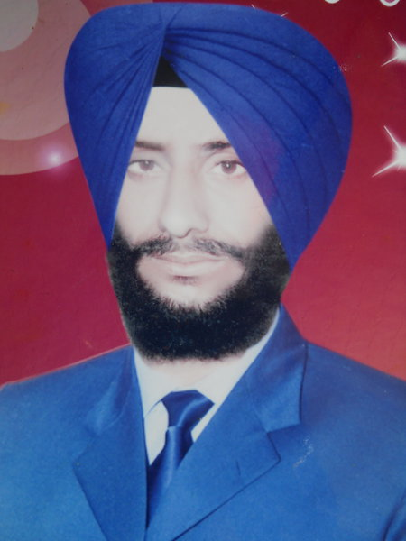 Photo of Sarbjit Singh, victim of extrajudicial execution between March 1, 1993 and March 30,  1993, in Majitha, by Punjab Police