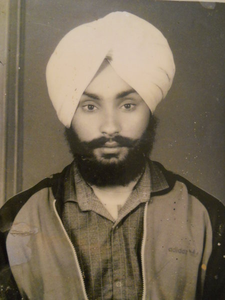 Photo of Jaswinder Singh, victim of extrajudicial execution on March 10, 1991, in Batala, by Punjab Police