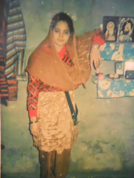 Photo of Balwinder Kaur, victim of extrajudicial execution on March 10, 1991, in Batala, by Punjab Police