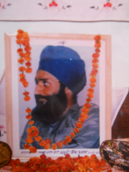 Photo of Manjeet Singh, victim of extrajudicial execution on February 12, 1987, in Amritsar, by Punjab Police