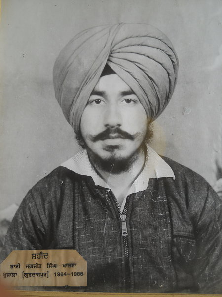 Photo of Jagjit Singh, victim of extrajudicial execution on May 01, 1988, in Amritsar,  by Punjab Police; Central Reserve Police Force, in Majitha, by Punjab Police