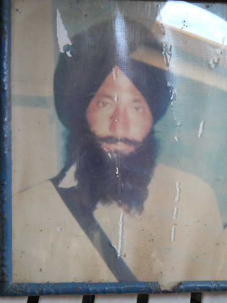 Photo of Maluk Singh, victim of extrajudicial execution on March 22, 1993, in Gurdaspur,  by Punjab Police; Central Reserve Police Force, in Gurdaspur, by Punjab Police