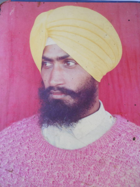 Photo of Balwinder Singh, victim of extrajudicial execution on March 02, 1993, in Gurdaspur CIA Staff,  by Criminal Investigation Agency, in Gurdaspur CIA Staff, by Criminal Investigation Agency