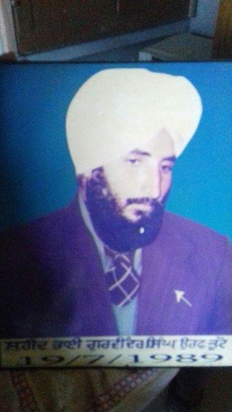Photo of Gurvinder Singh, victim of extrajudicial execution on July 19, 1989, in Batala, by Punjab Police
