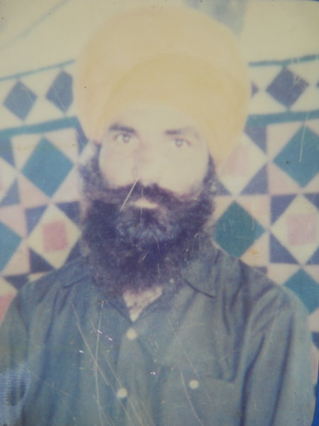 Photo of Gurdeep Singh, victim of extrajudicial execution between November 15, 1991 and December 15,  1991, in Kamalpur,  by Border Security ForceUnknown type of security forces