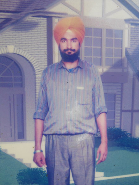 Photo of Sukhwinder Singh,  disappeared between April 13, 1993 and April 30,  1993, in Mamdot, Firozpur,  by Punjab Police