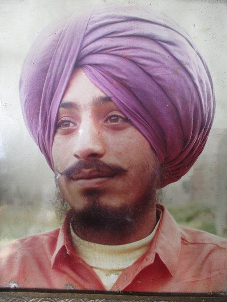 Photo of Kuldip Singh, victim of extrajudicial execution on August 27, 1990Punjab Police