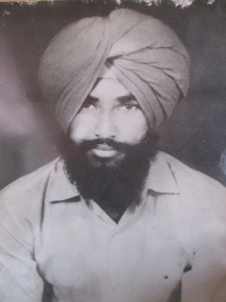 Photo of Parminder Pal Singh, victim of extrajudicial execution on April 02, 1987, in Gurdaspur, by Punjab Police