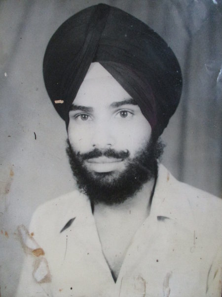Photo of Surinder Pal Singh,  disappeared by Punjab Police