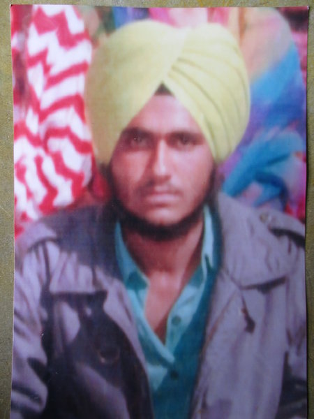 Photo of Avtar Singh,  disappeared on October 21, 1991