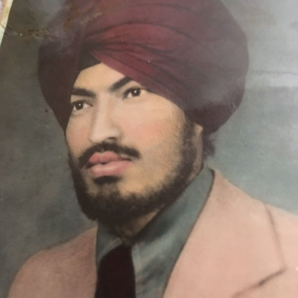 Photo of Lakhbir Singh, victim of extrajudicial execution on September 17, 1990, in Batala, by Punjab Police