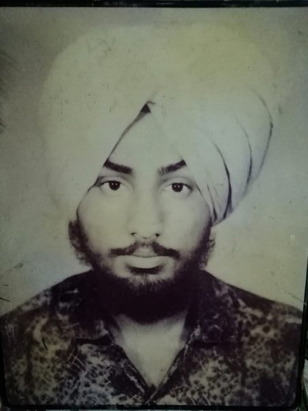 Photo of Balraj Singh, victim of extrajudicial execution on October 15, 1991, in Ludhiana, by Punjab Police