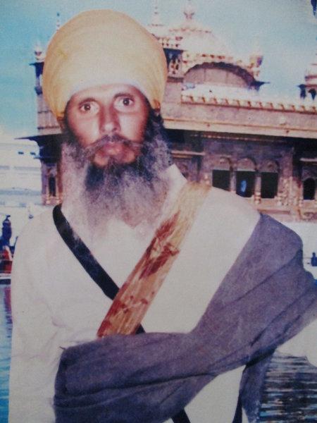 Photo of Kundan Singh, victim of extrajudicial execution between July 20, 1991 and July 22,  1991, in Udhanwal, by Punjab Police