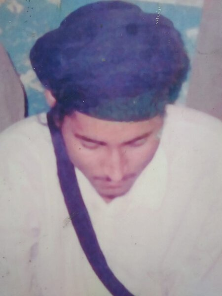 Photo of Lakhwinder Singh, victim of extrajudicial execution on May 15, 1989, in Batala, by Punjab Police