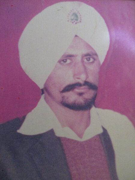 Photo of Malkeet Singh, victim of extrajudicial execution on November 01, 1991, in Batala, by Punjab Police