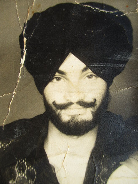 Photo of Dharam Singh, victim of extrajudicial execution on March 11, 1989, in Urmar Tanda, Hajipur, by Punjab Police