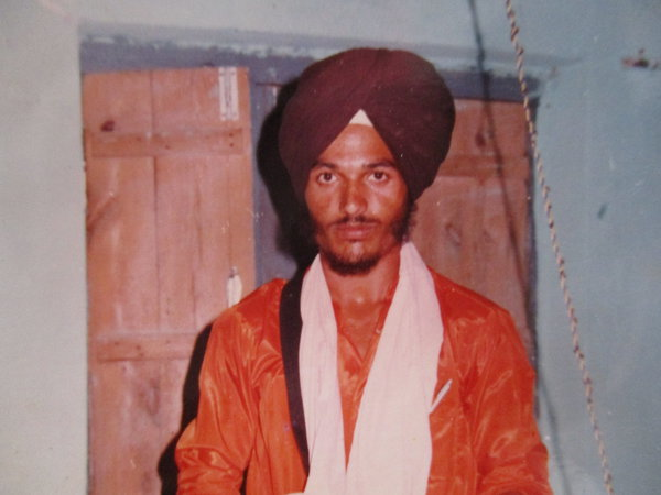 Photo of Ranjit Singh, victim of extrajudicial execution on April 21, 1991Punjab Police