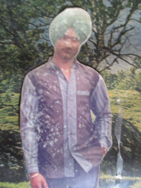 Photo of Gurpal Singh, victim of extrajudicial execution between February 6, 1991 and February 8,  1991, in Batala, by Punjab Police