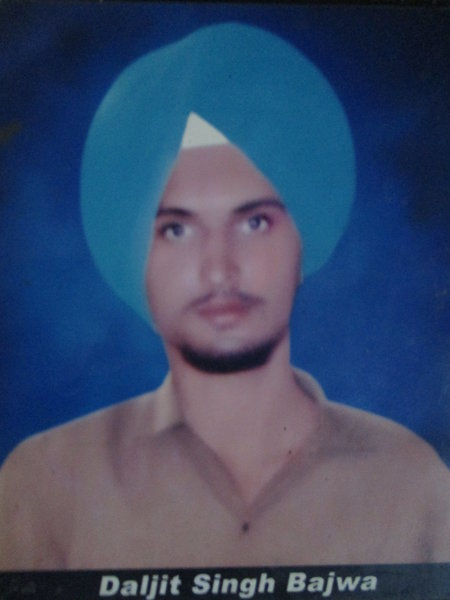Photo of Daljit Singh, victim of extrajudicial execution between August 1, 1991 and September 30,  1991, in Udhanwal, by Punjab Police