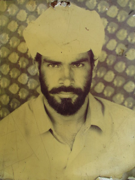 Photo of Nirmal Singh, victim of extrajudicial execution on September 20, 1992, in Mehta, Amritsar, by Punjab Police; Border Security Force