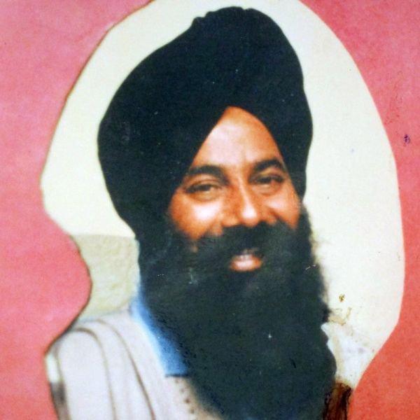 Photo of Kuljit Singh Dhatt, victim of extrajudicial execution on July 23, 1989, in Dasua, Urmar Tanda, Gardhiwala, by Punjab Police