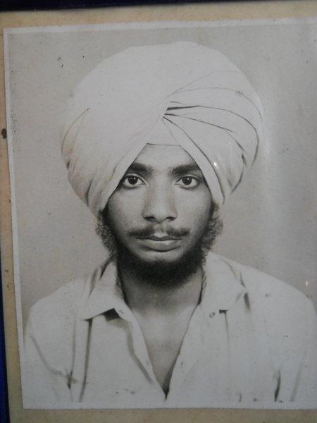Photo of Jarnail Singh, victim of extrajudicial execution between November 5, 1992 and November 6,  1992, in Mahilpur, by Punjab Police