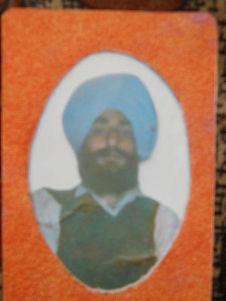 Photo of Janak Raj, victim of extrajudicial execution between June 15, 1992 and June 19,  1992, in Hoshiarpur, by Criminal Investigation Agency