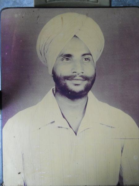 Photo of Harjap Singh, victim of extrajudicial execution on April 01, 1992, in Hoshiarpur, Hoshiarpur CIA Staff,  by Punjab Police; Criminal Investigation Agency, in Hoshiarpur, Hoshiarpur CIA Staff, by Punjab Police; Criminal Investigation Agency