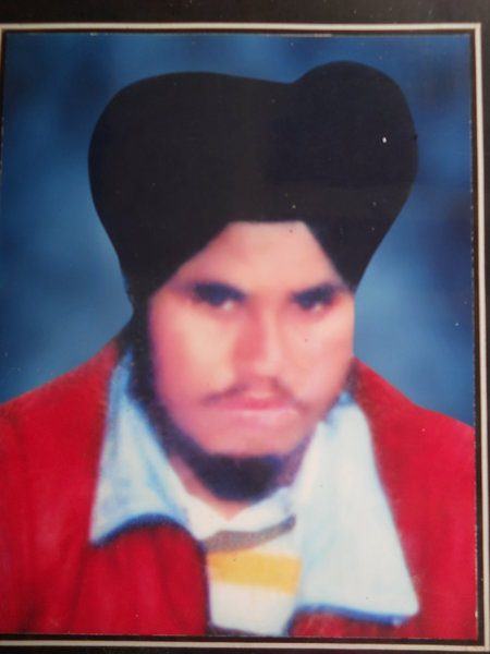 Photo of Manjeet Singh,  disappeared between July 31, 1988 and August 2,  1988 by Punjab Police