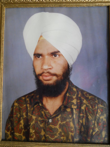 Photo of Makhan Singh, victim of extrajudicial execution on August 30, 1992, in Rupnagar CIA Staff, by Criminal Investigation Agency